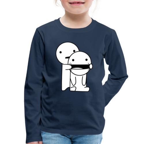 Lachen! - Kinderen Premium shirt met lange mouwen
