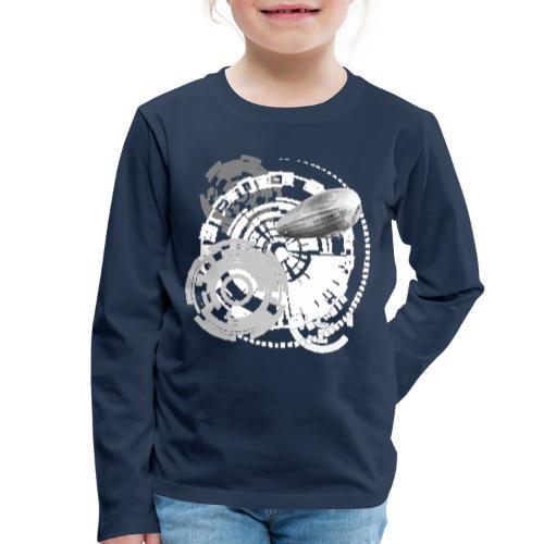 zeppelin - Kinder Premium Langarmshirt