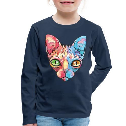 EgyptianCat - Kinder Premium Langarmshirt