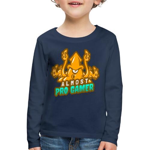 Almost pro gamer YELLOW - Maglietta Premium a manica lunga per bambini