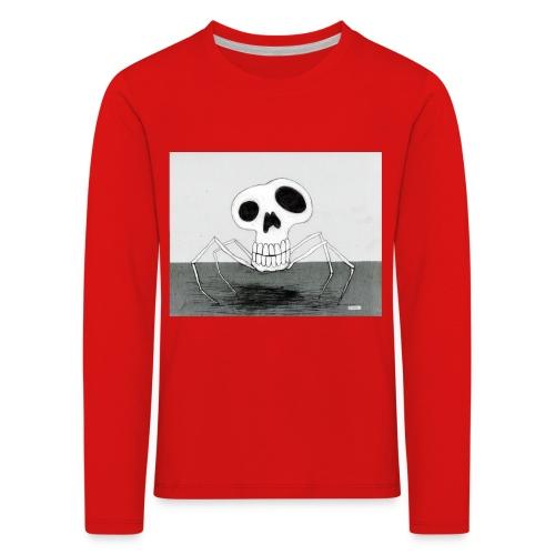 skull spider - Långärmad premium-T-shirt barn