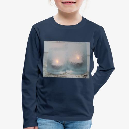 Selectie kaarslicht - Kinderen Premium shirt met lange mouwen