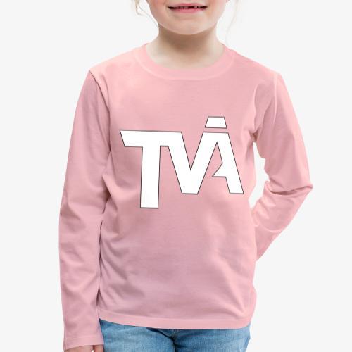 TVÅHUNDRA VIT - Långärmad premium-T-shirt barn