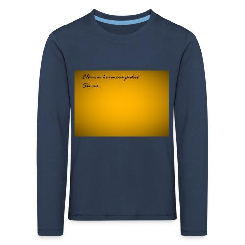 Kirje... - Lasten premium pitkähihainen t-paita