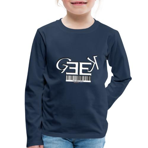GEEK II - T-shirt manches longues Premium Enfant