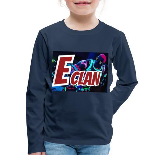 Elite x Clan Turnbeutel - Kinder Premium Langarmshirt