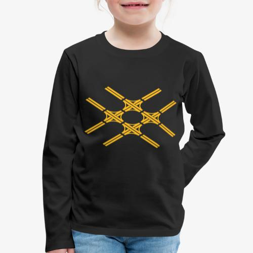 Autobahnkreuze Quartett - Kinder Premium Langarmshirt