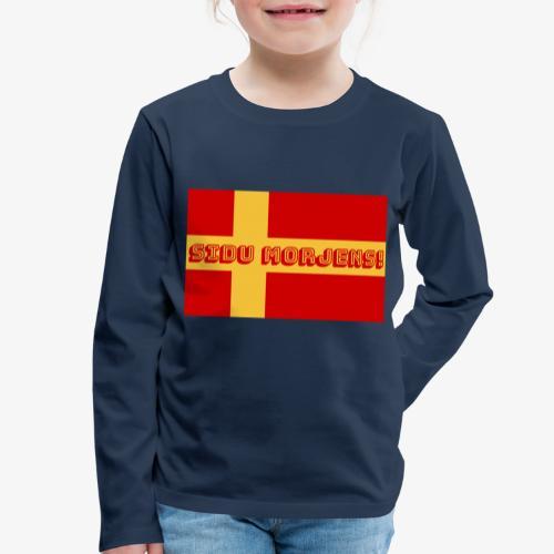 Sidu morjens! flagga - Långärmad premium-T-shirt barn
