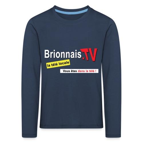 BTV logo shirt dos - T-shirt manches longues Premium Enfant