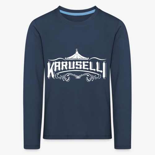 Karuselli - Lasten premium pitkähihainen t-paita