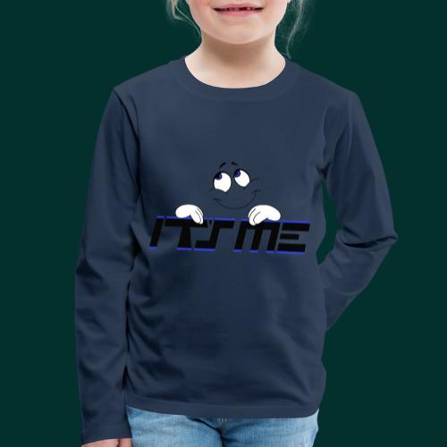 Faccia sognante - Maglietta Premium a manica lunga per bambini