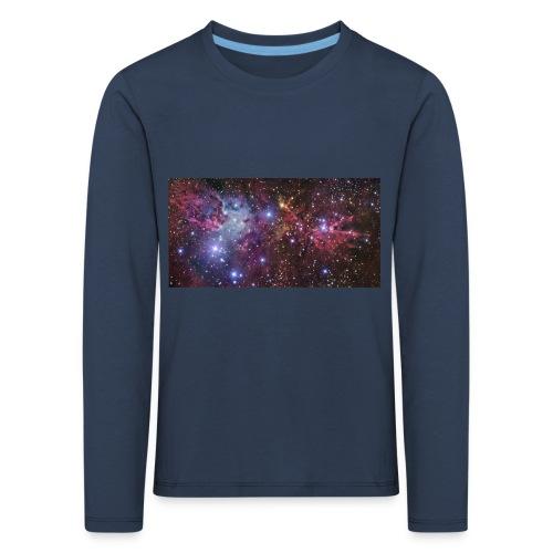 Stjernerummet Mullepose - Børne premium T-shirt med lange ærmer