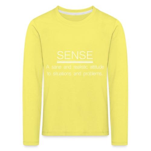 SENSE - T-shirt manches longues Premium Enfant