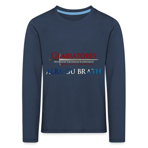 ALBAGUBRATH - Kinder Premium Langarmshirt