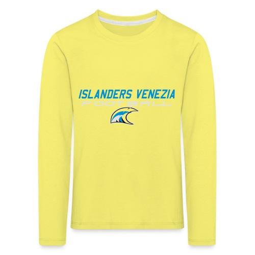 islanders football new logo - Maglietta Premium a manica lunga per bambini