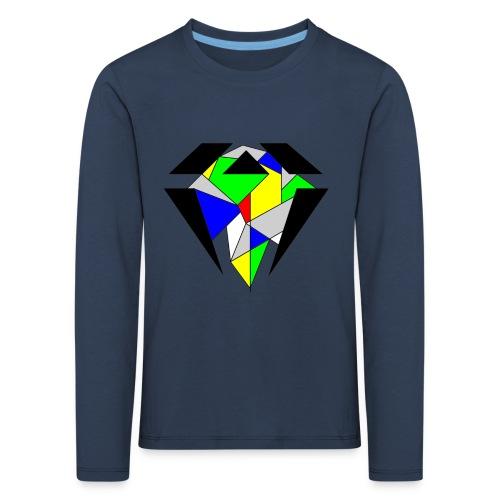 J.O.B. Diamant Colour - Kinder Premium Langarmshirt