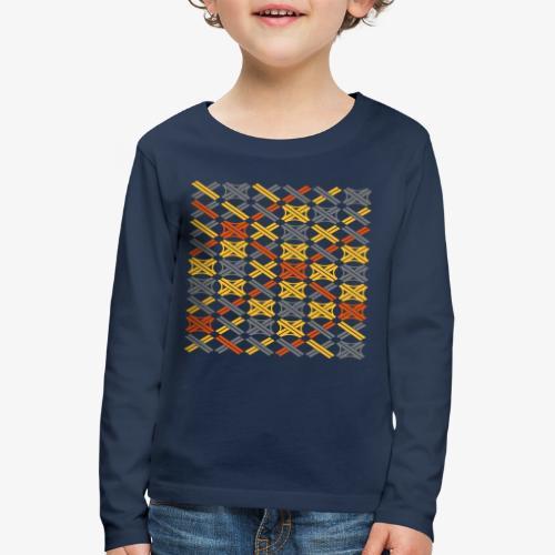 Autobahnkreuze Mesh - Kinder Premium Langarmshirt