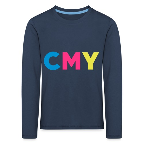 CMYK - Kinderen Premium shirt met lange mouwen