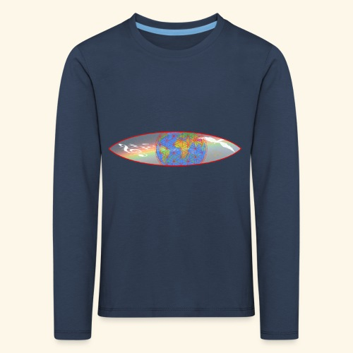 Heal the World - Kinder Premium Langarmshirt