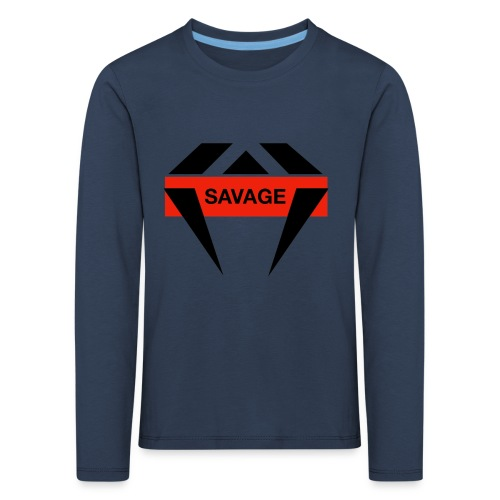 J.O.B Diamant Savage - Kinder Premium Langarmshirt