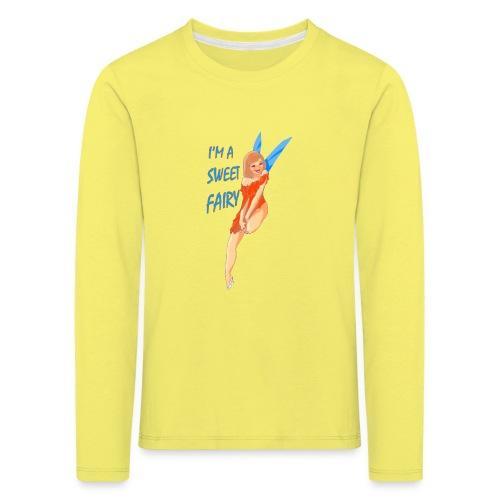 Sweet Fairy - Maglietta Premium a manica lunga per bambini