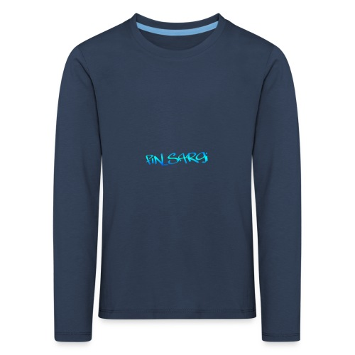 fin_sargi minilogo - Lasten premium pitkähihainen t-paita