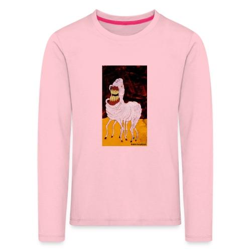 monster - Långärmad premium-T-shirt barn