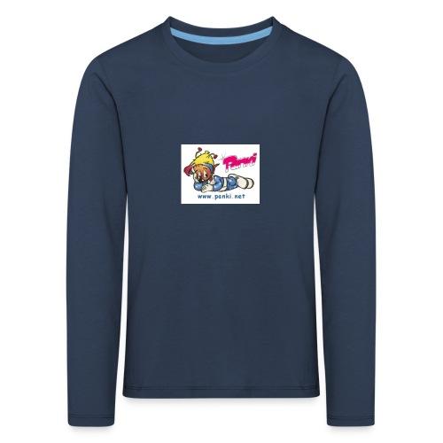 panki sticker neu - Kinder Premium Langarmshirt