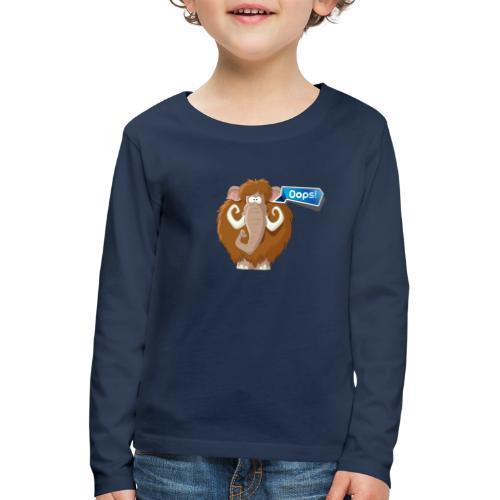 Mammut Oops - Långärmad premium-T-shirt barn