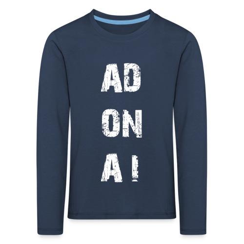 AD ON AI - Kinder Premium Langarmshirt