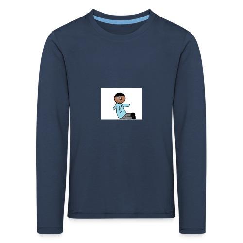das team r - Kinder Premium Langarmshirt