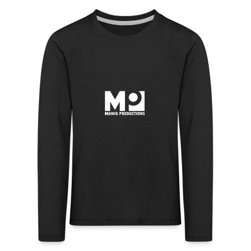 ManigProductions White Transparent png - Kids' Premium Longsleeve Shirt