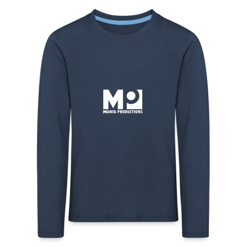 ManigProductions White Transparent png - Kids' Premium Longsleeve Shirt