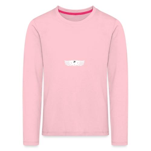 LOGO wit goed png - Kinderen Premium shirt met lange mouwen