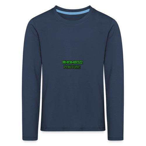 Hoodie Rhombo22 YouTube - Kinder Premium Langarmshirt