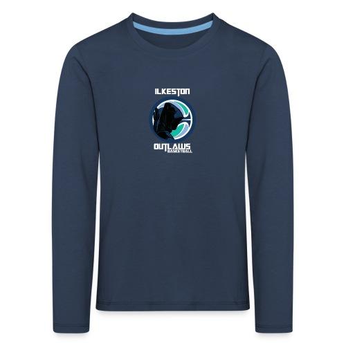 Bowman Title WHT png - Kids' Premium Longsleeve Shirt