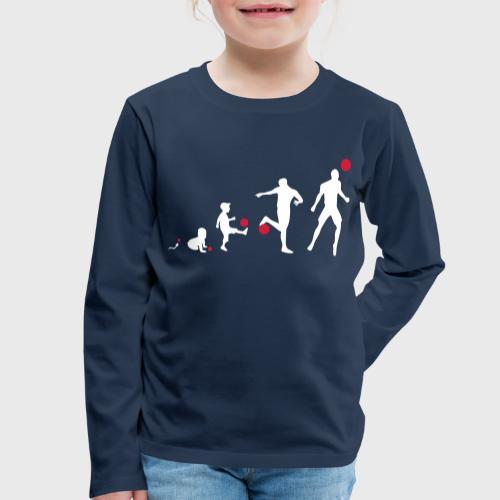 Football Evolution - T-shirt manches longues Premium Enfant