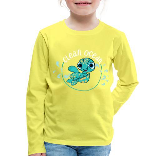 Clean Ocean - Kids' Premium Longsleeve Shirt