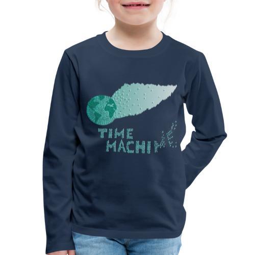 Time Machine - Kinder Premium Langarmshirt