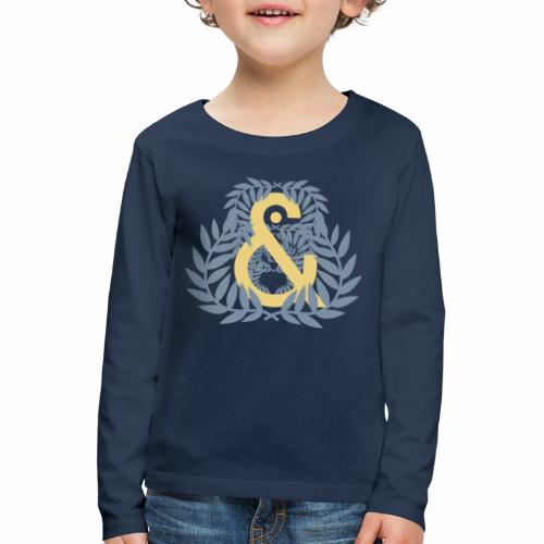 Aureola & ... - Camiseta de manga larga premium niño