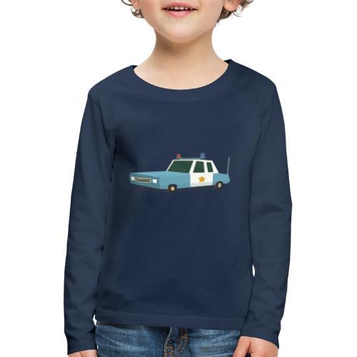 Police car t shirt - Kids' Premium Longsleeve Shirt