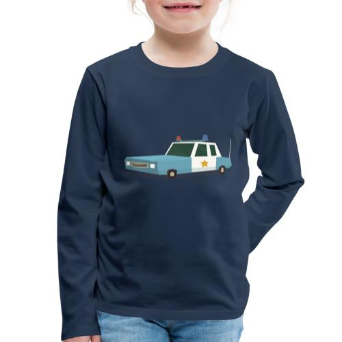 Police car t shirt - Kids' Premium Longsleeve Shirt