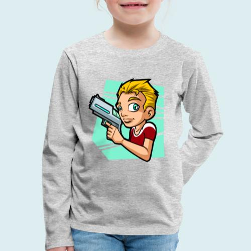 sci fi boy - Maglietta Premium a manica lunga per bambini