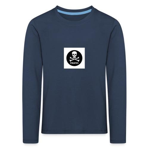 skull-and-bones-pirates-jpg - Kinderen Premium shirt met lange mouwen
