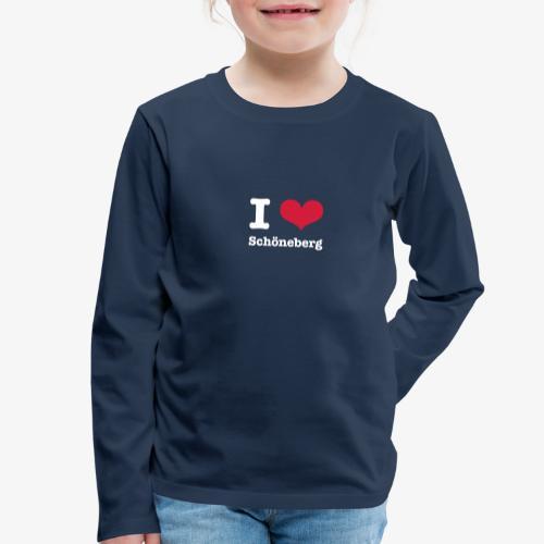 I love Schöneberg - Kinder Premium Langarmshirt