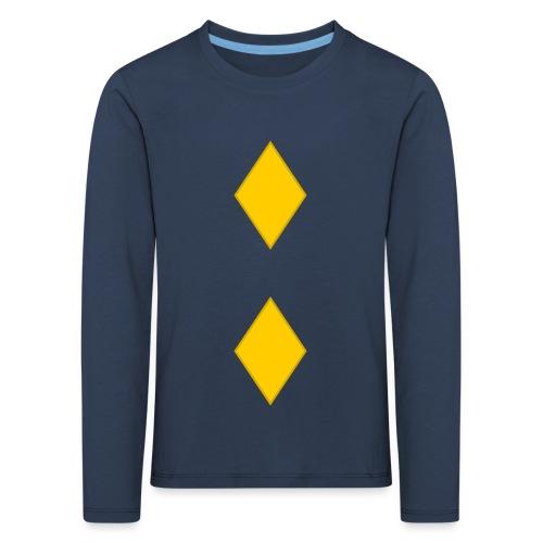 Upseerikokelas - Lasten premium pitkähihainen t-paita