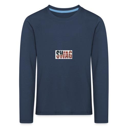 USA_SWAGG - T-shirt manches longues Premium Enfant