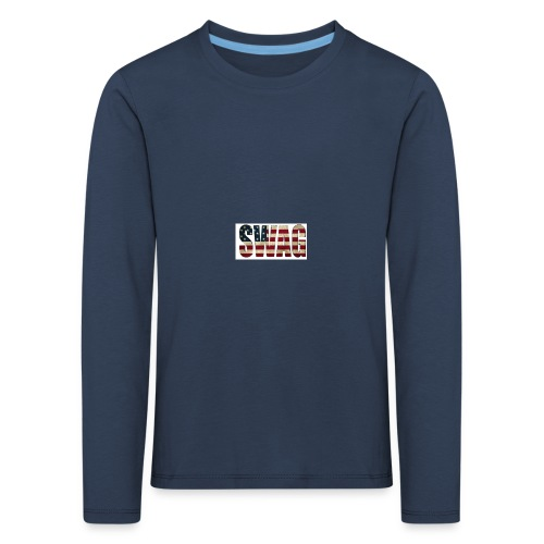 USA_SWAGG - T-shirt manches longues Premium Enfant