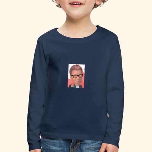 MM twitch shop - Børne premium T-shirt med lange ærmer