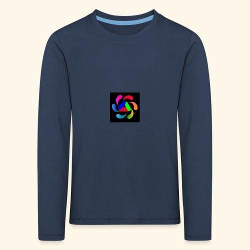logo - Maglietta Premium a manica lunga per bambini